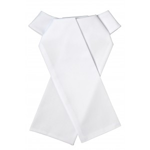Ovation® European Collection Cotton Twill Ready Tied Stock Tie