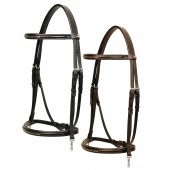 Tekna® Raised Fancy Stitched Bridle with Clip Ends