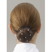 Showquest Swarovski Bun Net