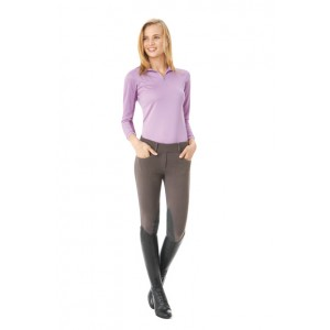Ovation® Euro Knit Knee Patch Tights - Ladies'