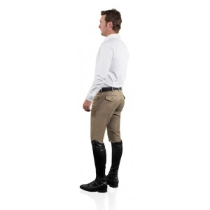Ovation® EuroWeave™ DX® 4-Pocket Front Zip Full Seat Breeches - Men's