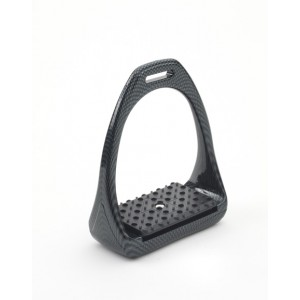 Compositi® Carbon Look Reflex 3D Swivel Action Wide Track Stirrups