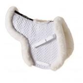 Ovation® Europa™ Sheepskin Hunter Show Pad with Billet Cutout