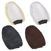 Ovation® Europa™ Sheepskin Reversible Grooming Mitt