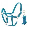 Centaur® Plaid Fleece Breakaway Halter with Lead