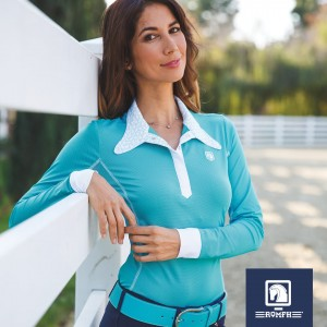Romfh® Ladies Signature Competitor Show Shirt- Long Sleeve