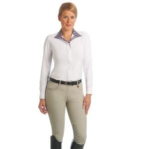 Ovation® Aqua-X Slim Secret™ Knee Patch Breeches -Ladies'
