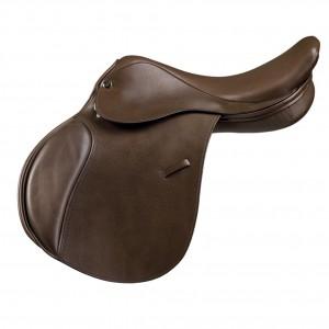 Camelot™ Close Contact Saddle- Dark Brown