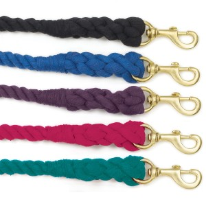 3-Ply Cotton Lead with Solid Brass Snap
