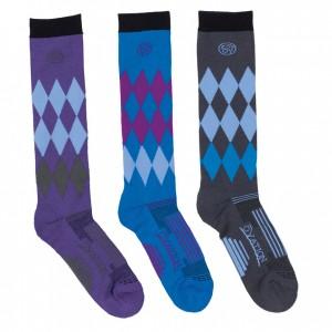 Ovation® Dry-Tex™ Harlequin Knee High Riding Socks
