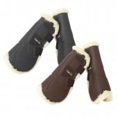 Tekna® Sheep-Tek™ Sheepskin Open Front Jumping Boots with Quik-Close™ Straps