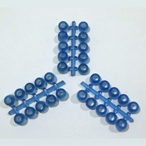 Eco Pure Jelly Rubber Stud Plugs- Pack of 60
