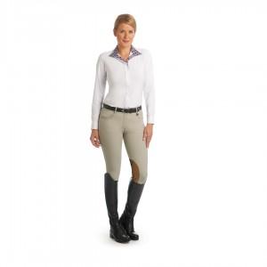 Ovation® Aqua-X Clarino Knee Patch Breeches - Ladies'