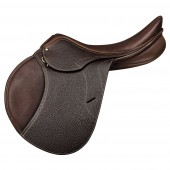 Pessoa® Gen-X™ Elite Buffalo Grained with AMS® and Triangle Knee Roll