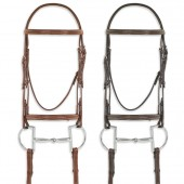 Pessoa® PRO Fancy Stitched Raised Bridle