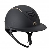 One K™ Defender AVANCE Wide Brim Rose Gold Stripe Helmet