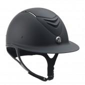 One K™ Defender AVANCE Wide Brim Chrome Stripe Helmet