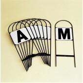 Dressage Letters/Set8 ABCEFHKM