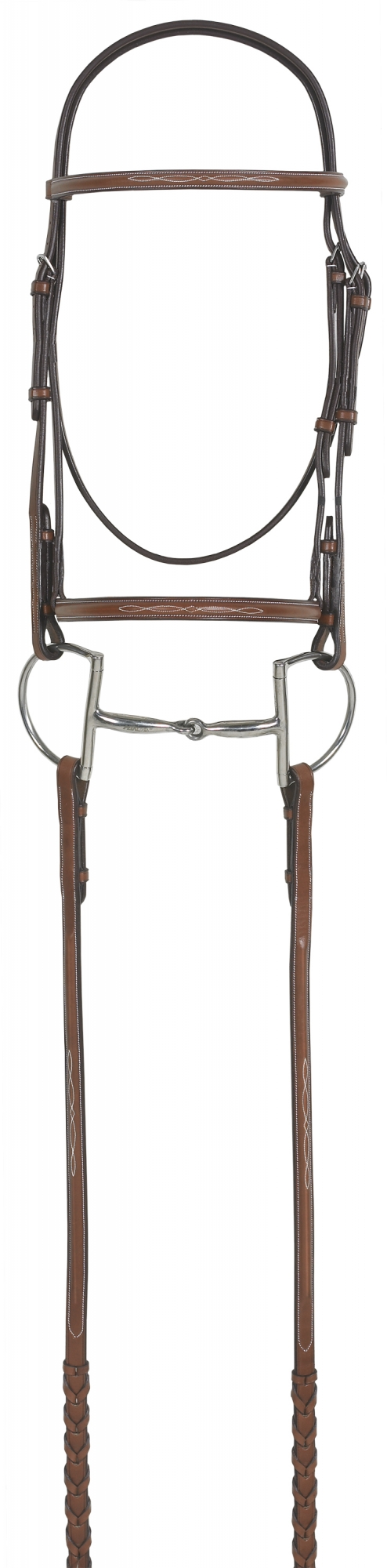 Rodrigo Pessoa® Fancy Raised Bridle w/ Raised Laced Reins