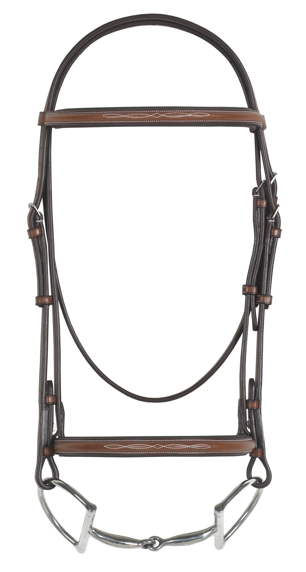 Rodrigo Pessoa® Fancy Raised Padded Bridle w/o reins