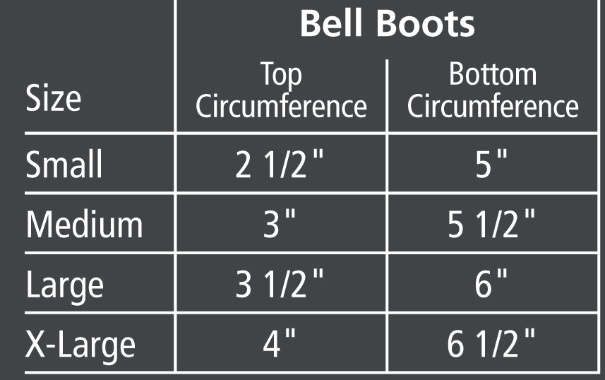 470482- STS Safety Bell boots