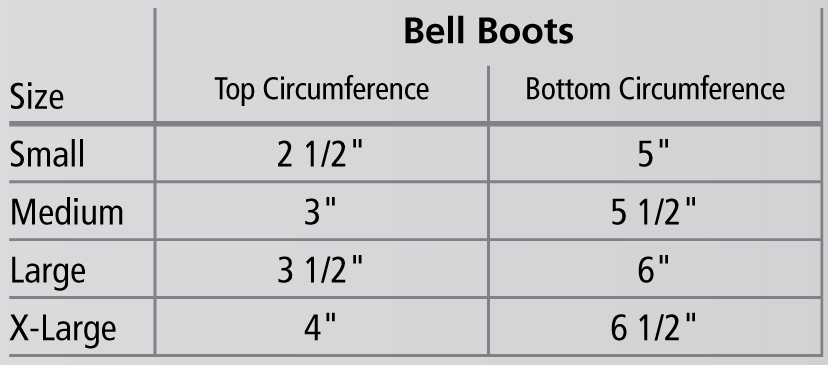 470573-470574 Safety Bell Boots