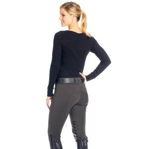 Ovation® Winter Pull On Silicone Knee Patch Breech- Ladies'