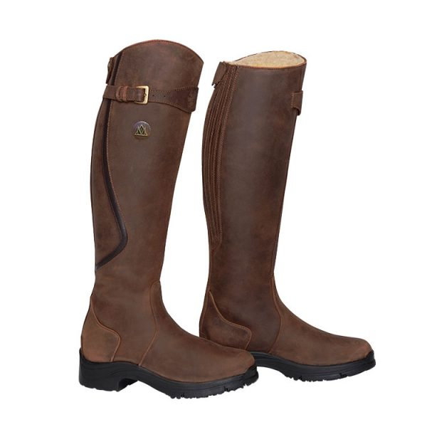 Mountain Horse® Snowy River Tall Winter Boot Brown