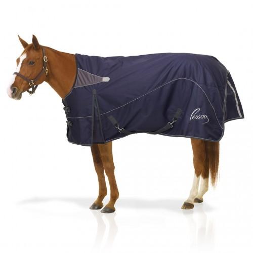 Pessoa Horse Clothing Navy Grey
