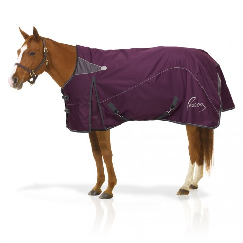 Pessoa Horse Clothing Plum Grey