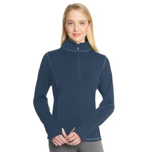 Ovation® Equinox Quarter Zip Shirt- Ladies'