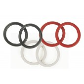 Eco Pure Rubber Peacock Bands