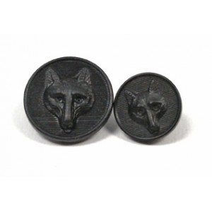 Ovation® Foxhead Button- Small