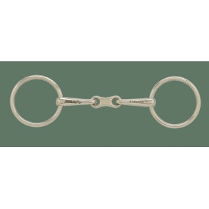 German Silver 13 MM French Mouth Loose Ring Bit
