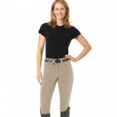 Ovation® Celebrity Slim Secret EuroWeave™ DX Front Zip Full Seat Breeches - Ladies'