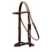 Tekna® Raise Fancy Stitched Hunter Bridle with Hook Stud Ends