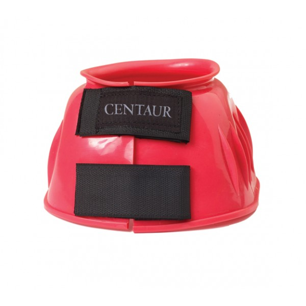 Large Centaur Double Tab Ribbed PVC Bell Boots Royal
