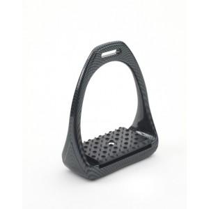 Compositi® Carbon Look Reflex 3D Swivel Action Wide Track Stirrups