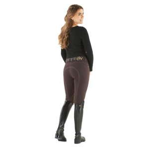 Ovation® SoftFLEX Zip Front Classic Knee Patch Breeches - Ladies'