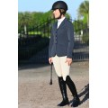 Ovation® EuroWeave DX™ Taylored™ Front Zip Knee Patch Euro Seat Breeches- Ladies'