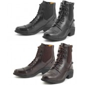 Ovation® Synergy Laced Paddock Boot with Zip Back - Ladies'