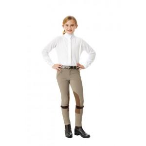 Ovation® EuroWeave™ Front Zip Knee Patch Jod- Child's