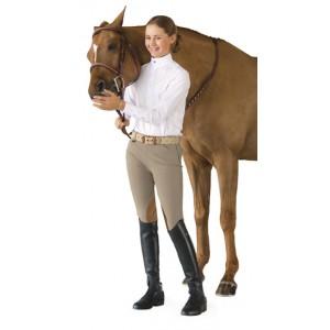 Ovation® EuroWeave™ Side-Zip Knee Patch Breech- Child's
