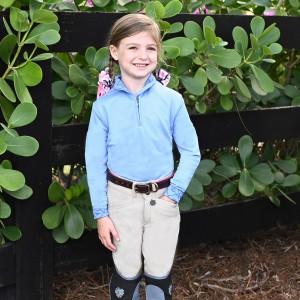 Ovation® Child's Cool Rider Tech Long Sleeve Shirt