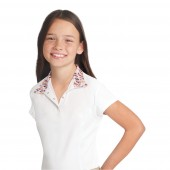 Ovation® Ellie Child's Tech Show Shirt- Short Sleeve