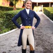 Romfh® Daniella Derby Classic Knee Patch Side Zip Breech
