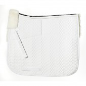 Ovation® Europa™ Sheepskin Dressage Pad-4-Shim