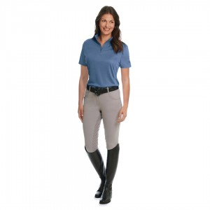 Ovation® Ladies' Cool Rider Tech Short Sleeve Shirt