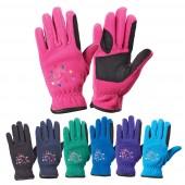 Ovation® Horse N Heart Fleece Gloves- Child's