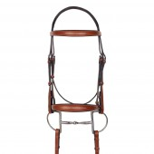 Aramas® Mild Raised Z-Shape Bridle with Rubber Reins